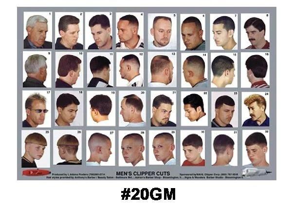 haircutposter20gm  Alamo Barber  Beauty Supply