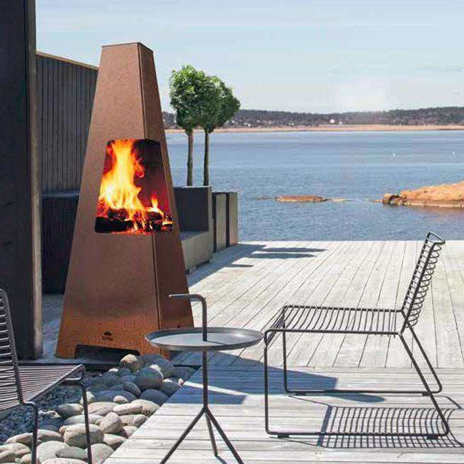 Jtul Terrazza XL Outdoor Fireplace  Stove Supermarket