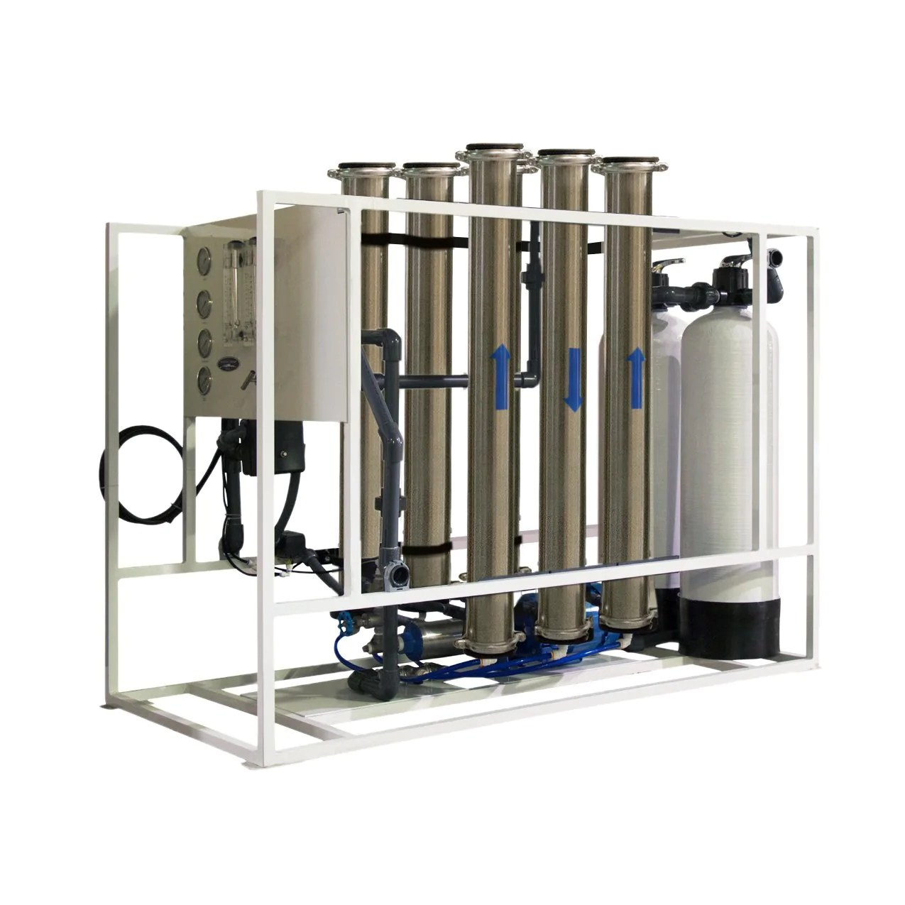 medium resolution of high flow reverse osmosis system commercial crystal quest water filters