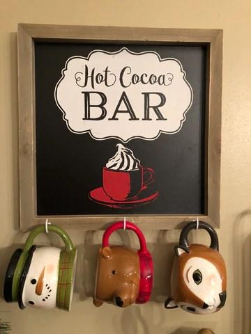 Hot Cocoa Bar Target Mugs
