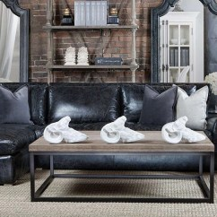 Leather Living Rooms Colors For Walls In Room Winslow Collection Curations Limited