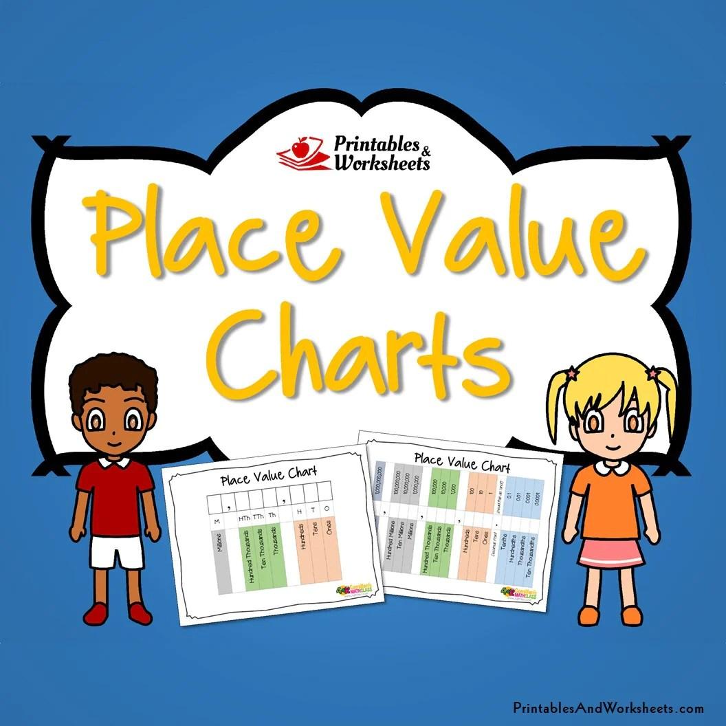 place value charts  [ 1056 x 1056 Pixel ]