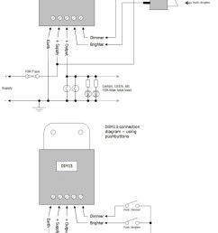 led marine pmw dimmer connection diagrams [ 796 x 1269 Pixel ]