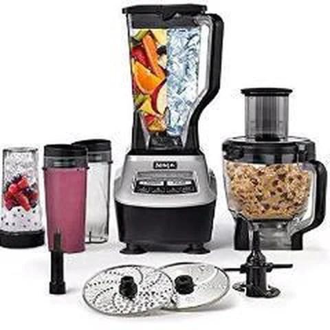 ninja 1500 watt mega kitchen system sink without cabinet bl773co food processor blender tvoutlet ca