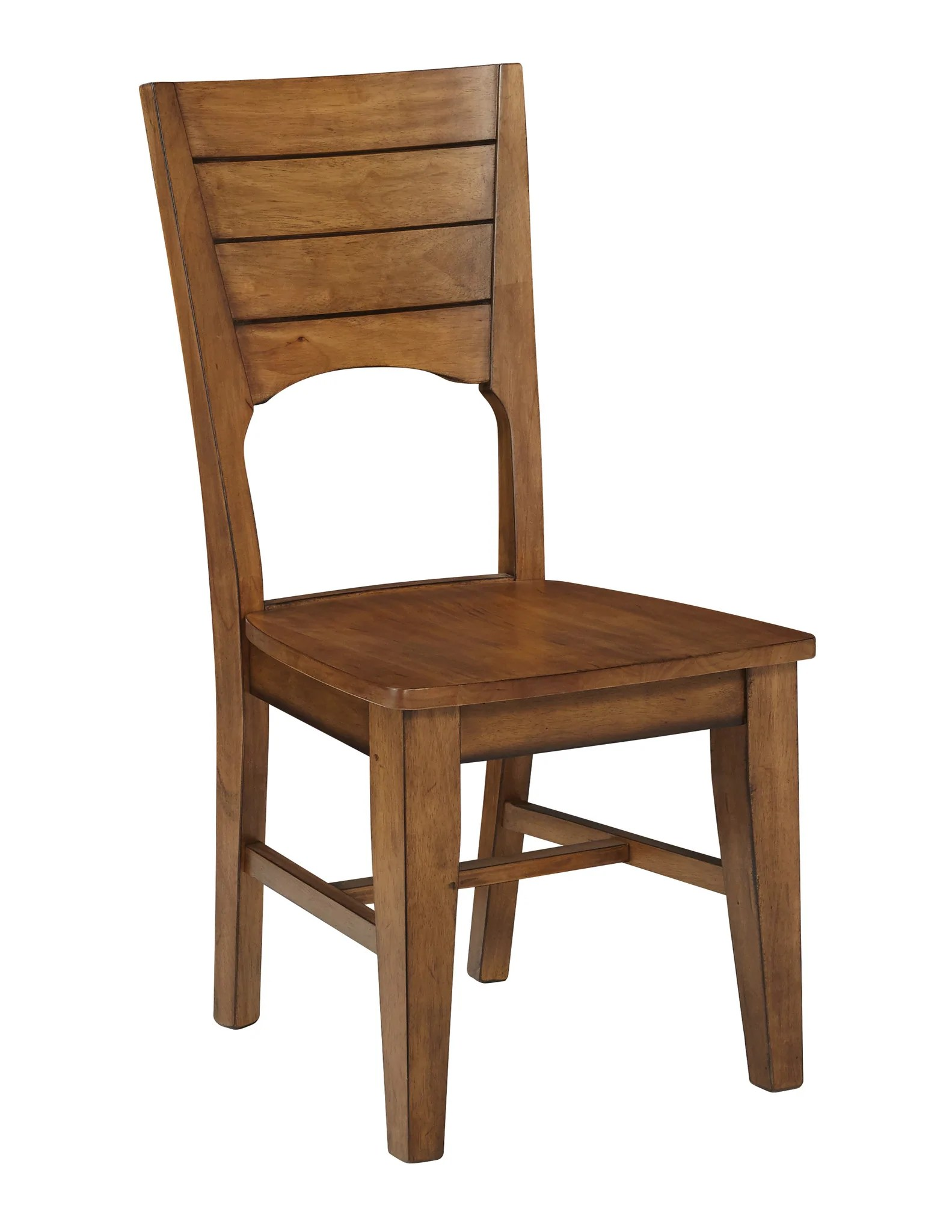 Unfinished Dining Chairs Canyon Unfinished Hardwood Dining Chairs 2 Pack Free