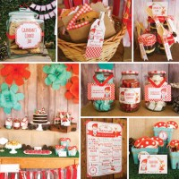 Little Red Riding Hood Party Decorations