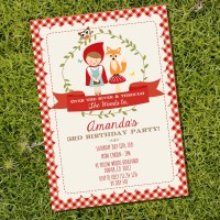 Little Red Riding Hood Party Decorations | Woodland Party ...