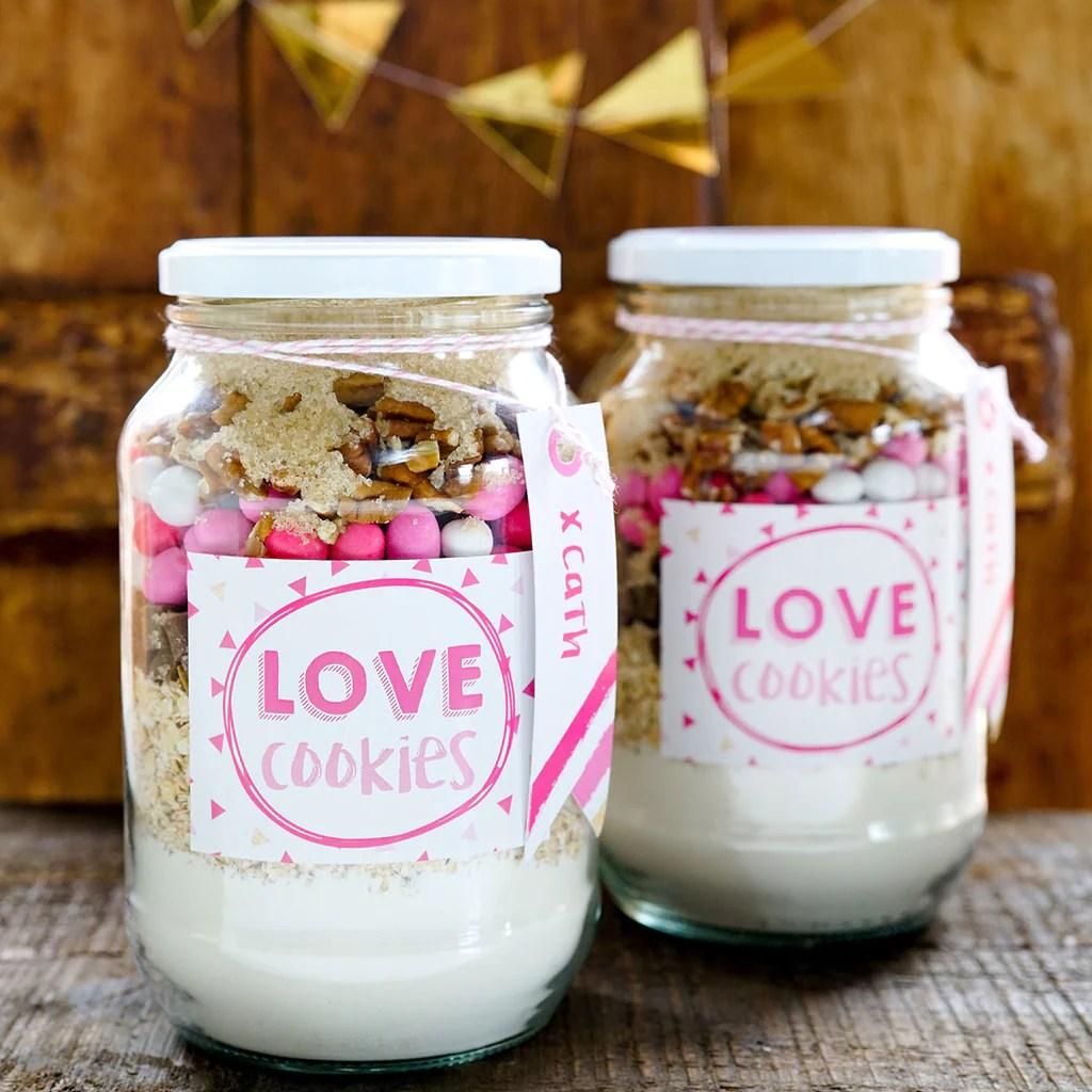 Download Valentine's Love Cookies   Cookie Jar labels, recipe ...