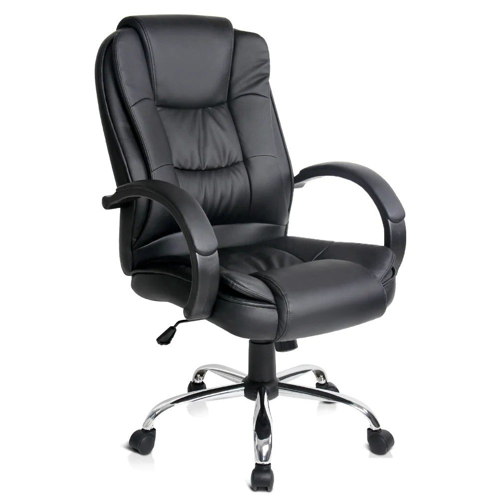 Executive Pu Leather Office Computer Chair Black Online In Australia