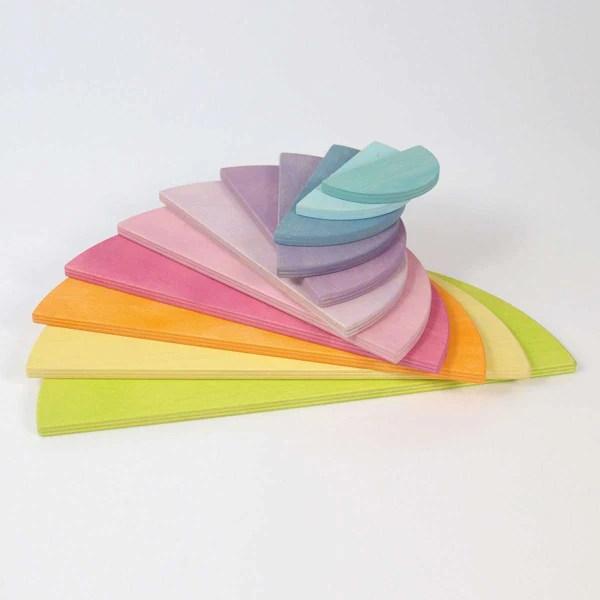 Coming Soon 2020 Grimm S Pastel Semi Circles Tiny Paper Co