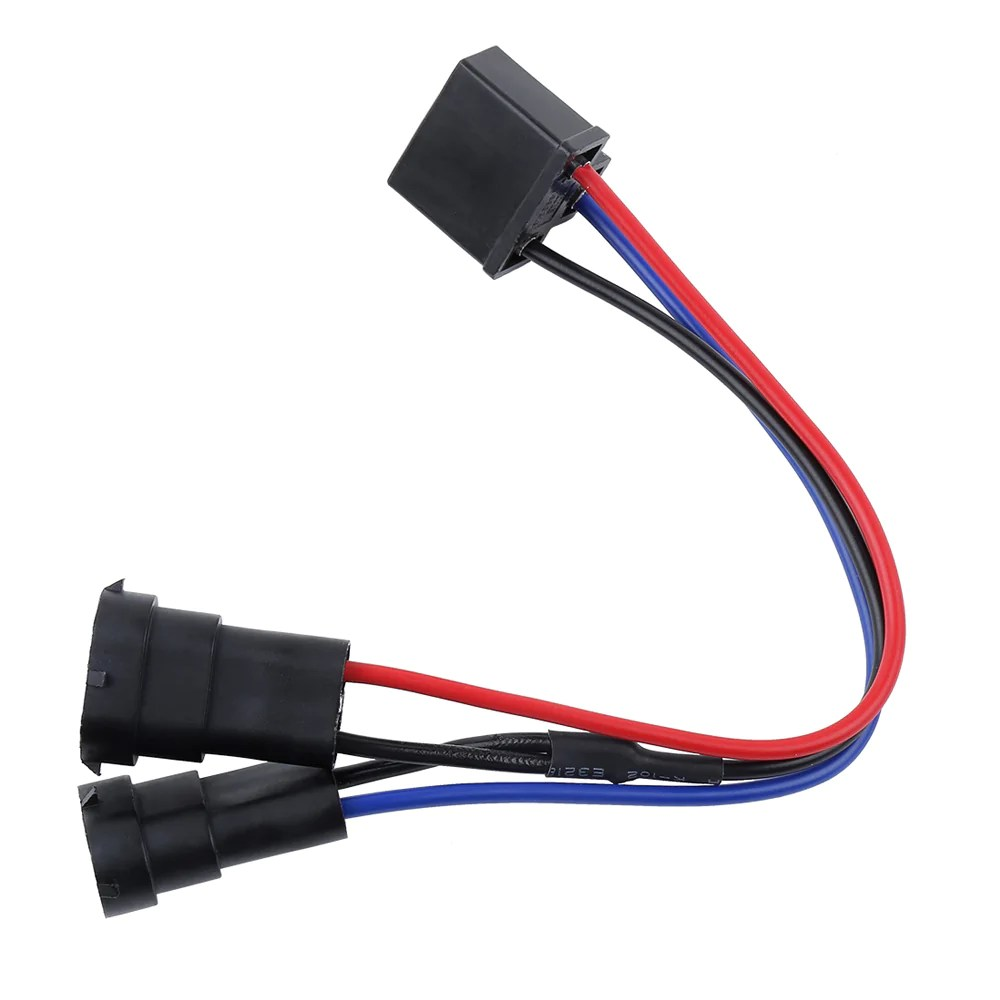 h4 to h9 h11 wire harness adapter for dual beam headlights [ 1000 x 1000 Pixel ]