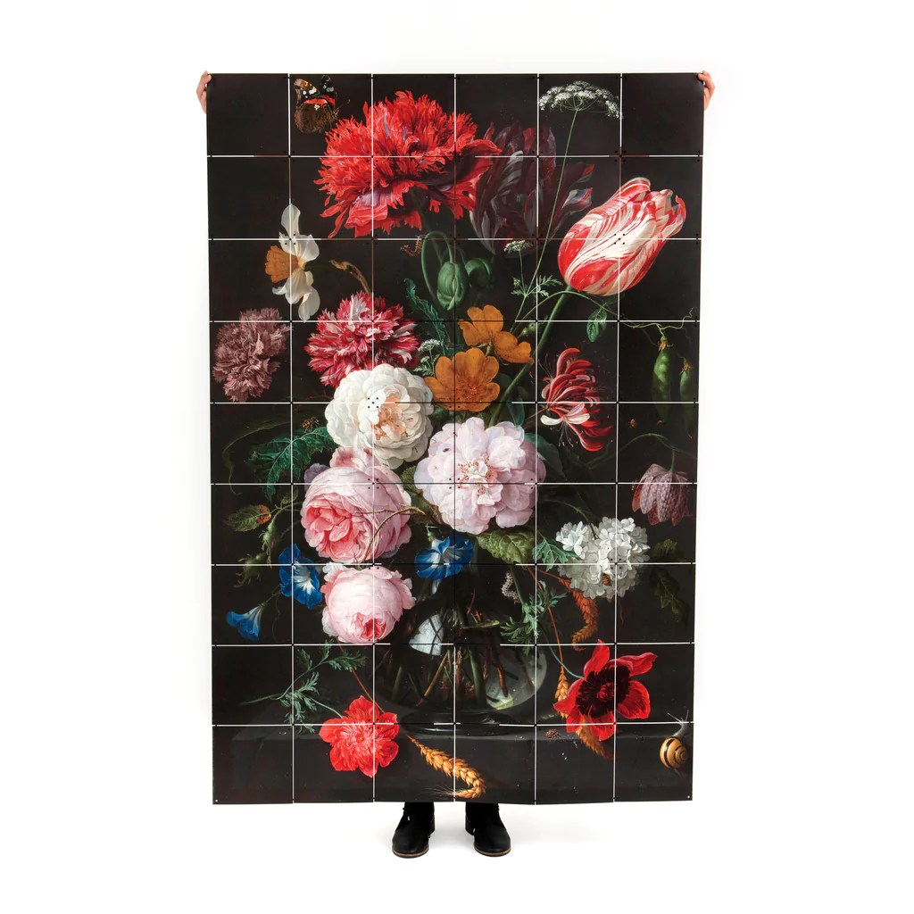 Life With Flowers Wall Hanging Auckland Art