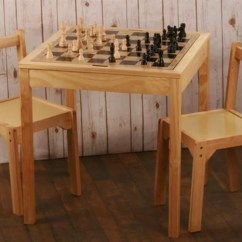 Chess Table And Chairs Elderly Sale Wooden Chair Set For House