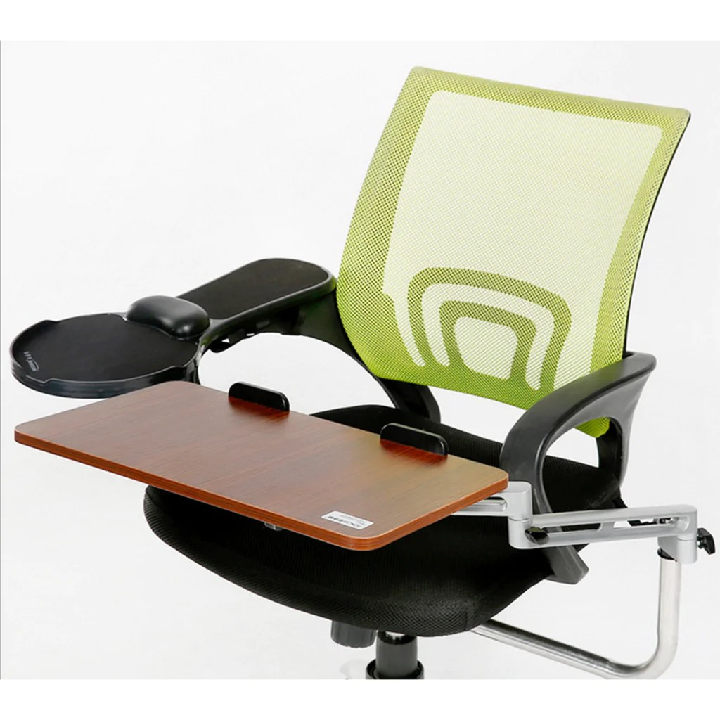 Keyboard Chair Ergonomic Chair Mount Laptop Keyboard Mouse Tray System Arm Stand