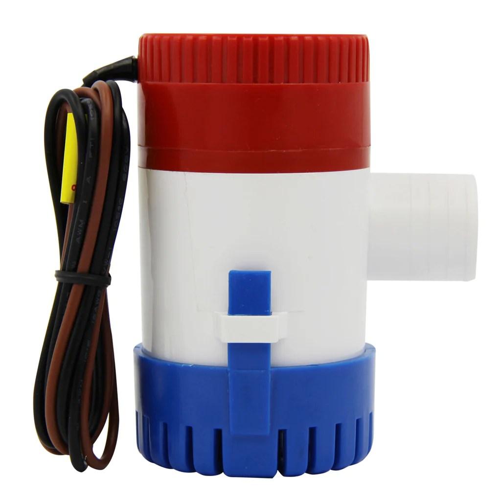 electric bilge pump 12v marine 1100gph for boat caravan rv penson co  [ 1024 x 1024 Pixel ]