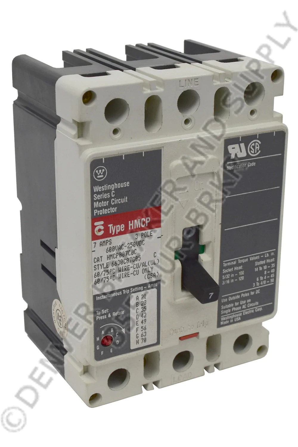 small resolution of cutler hammer hmcp003a0 circuit breaker