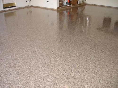 Expressions LTD Epoxy Floor Broadcast Acrylic Flake