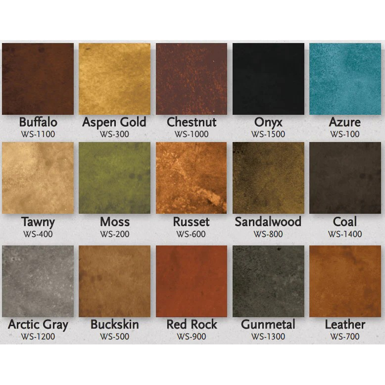 Expressions ltd concrete water based stain living earth  also rh