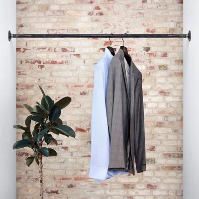ceiling mounted clothes rail rackbuddy joey rackbuddy com