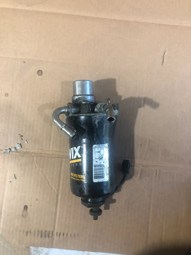 medium resolution of 01 16 duramax fuel filter head delete bypass tube race ready01 16 duramax fuel filter head