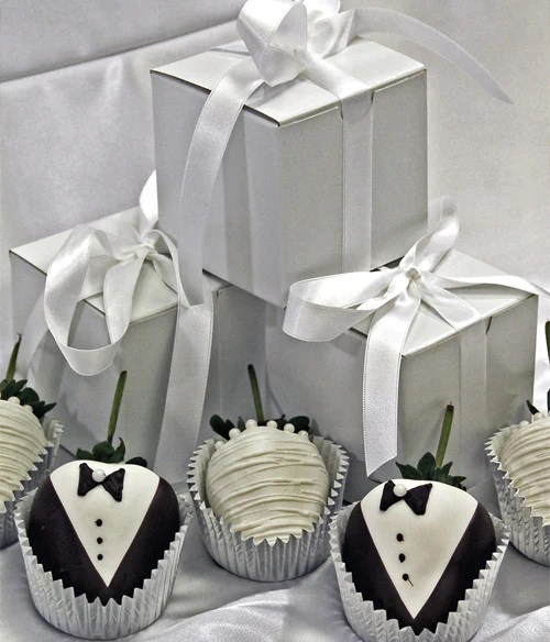 Chocolate Covered Company  Wedding Favors Chocolate Covered Strawberries