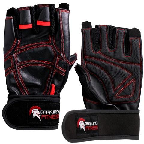 Dark Iron Fitness Leather Gym Gloves Dark Iron Fitness Store