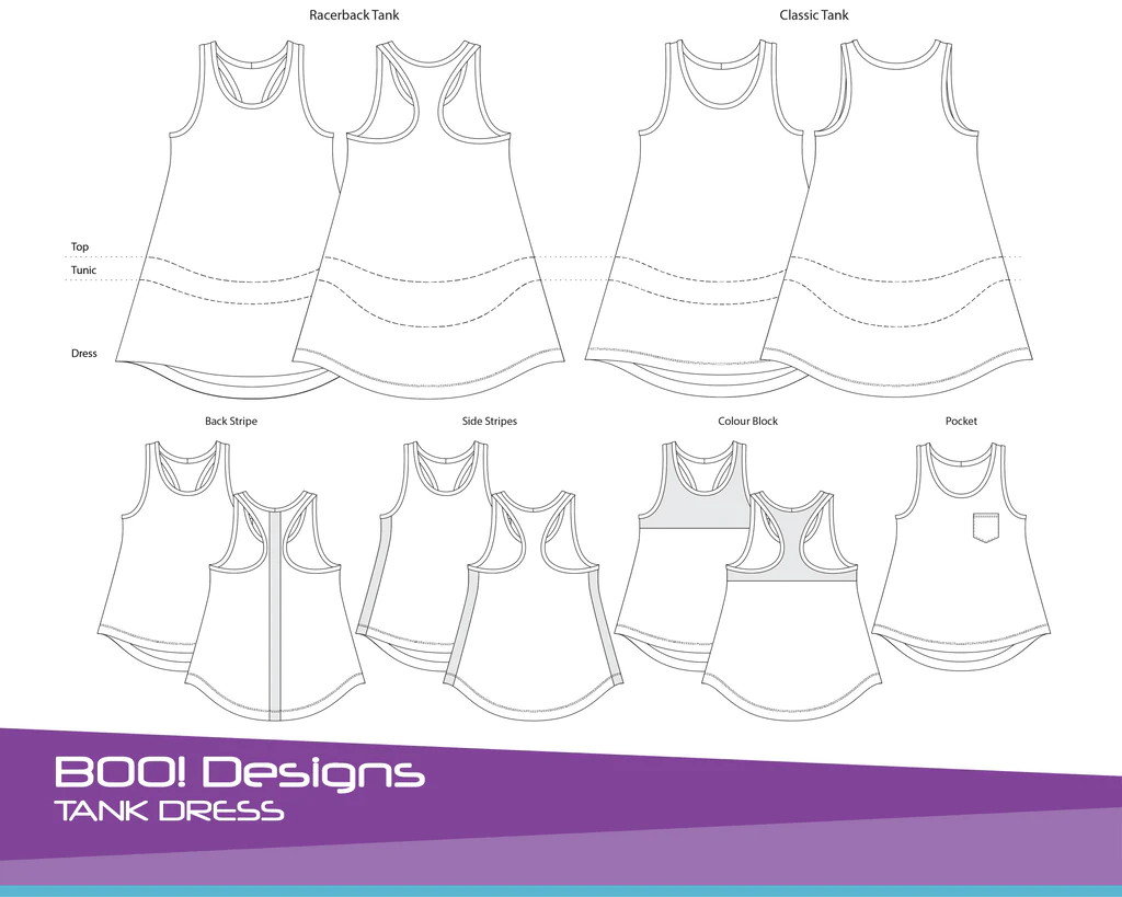 hight resolution of pdf pattern tank dress
