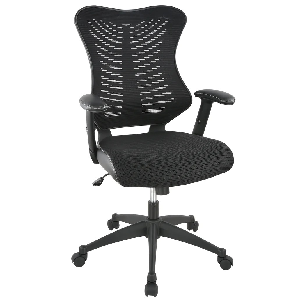 How To Adjust Office Chair Correna Office Chair In Mesh Black