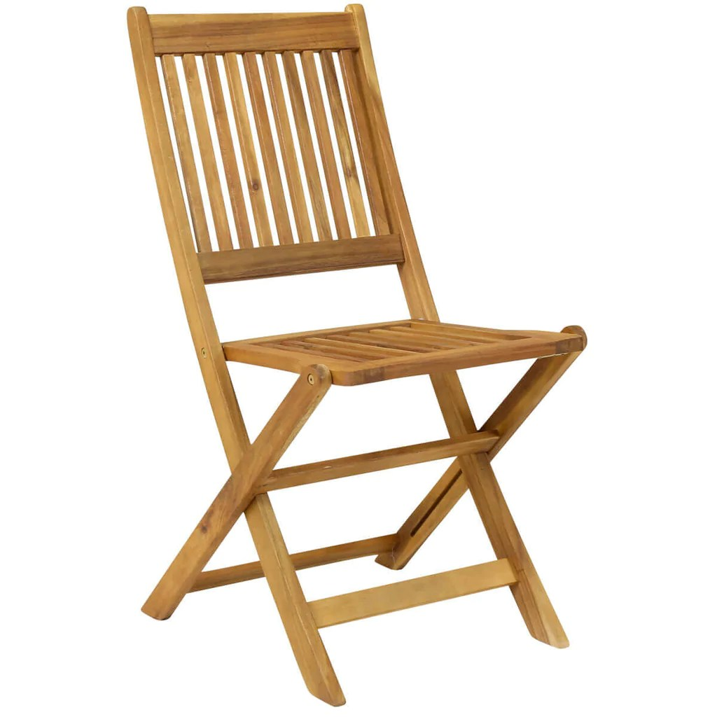 Patio Folding Chairs Pair Of Wooden Outdoor Dining Patio Foldable Chairs
