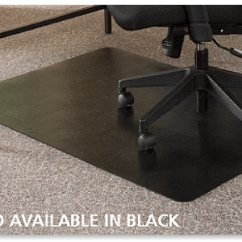 Desk Chair Mats Wheels For Legs The Mat Office Buy Custom Home Black
