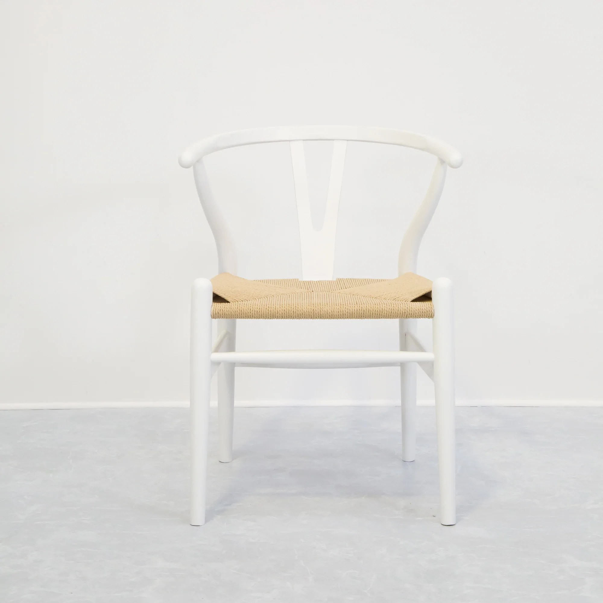white wishbone chair replica lightweight folding chairs  eat furniture