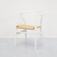 White Wishbone Chair Replica Lucite Office  Eat Furniture