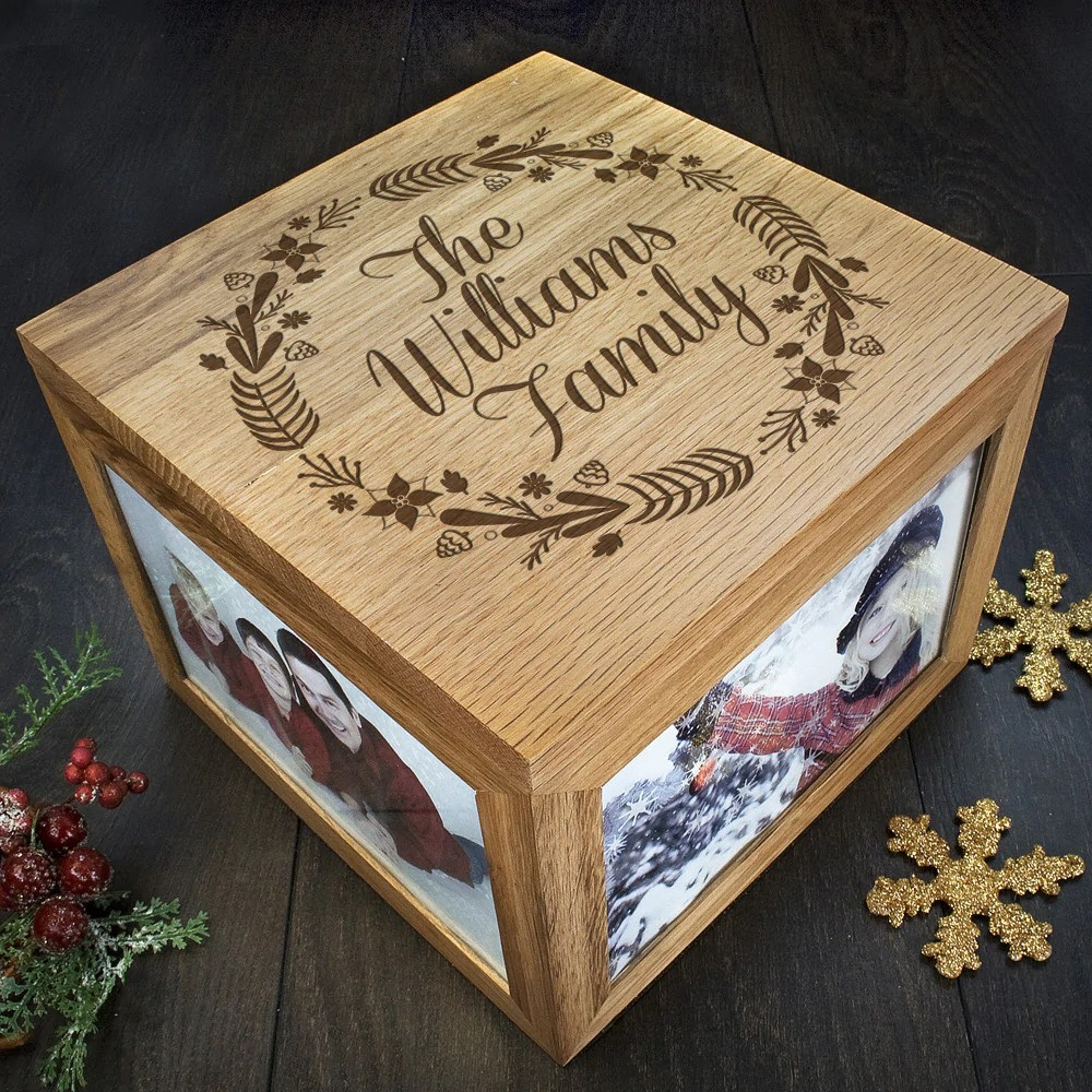 family s christmas personalised