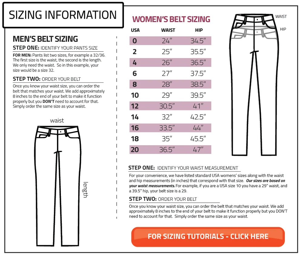 Grip belt sizing information also belts how to choose your size rh
