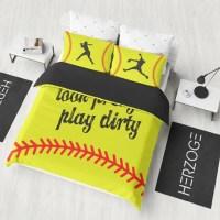 Herzoge Softball Bedding Set