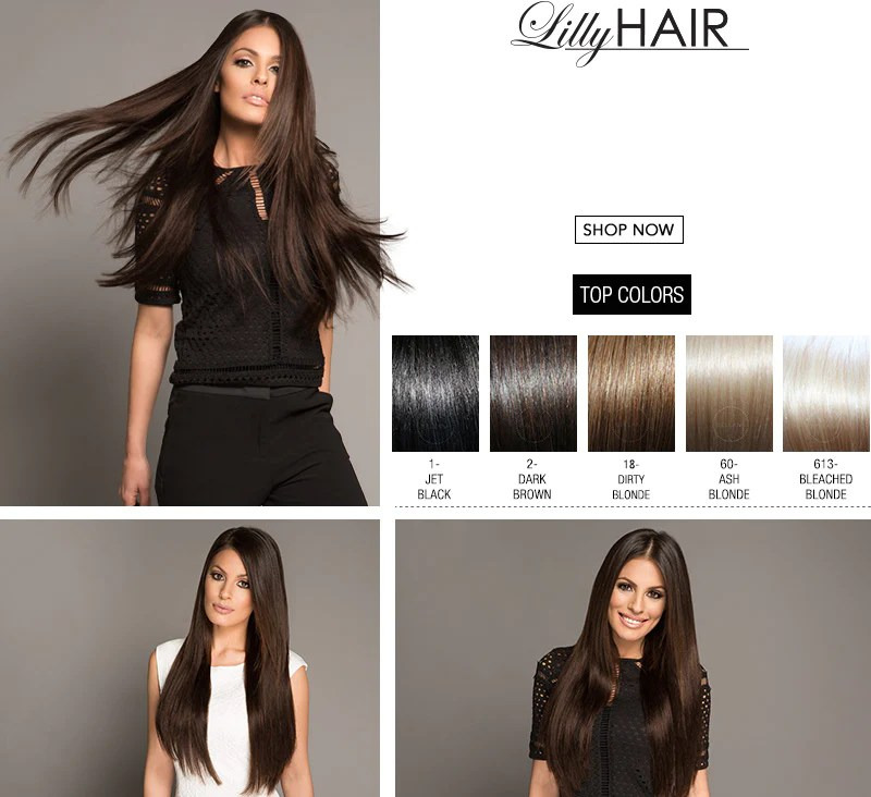 Lilly Hair Extensions Bellami Zieview
