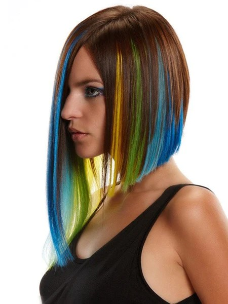 colored hair extensions hairpieces