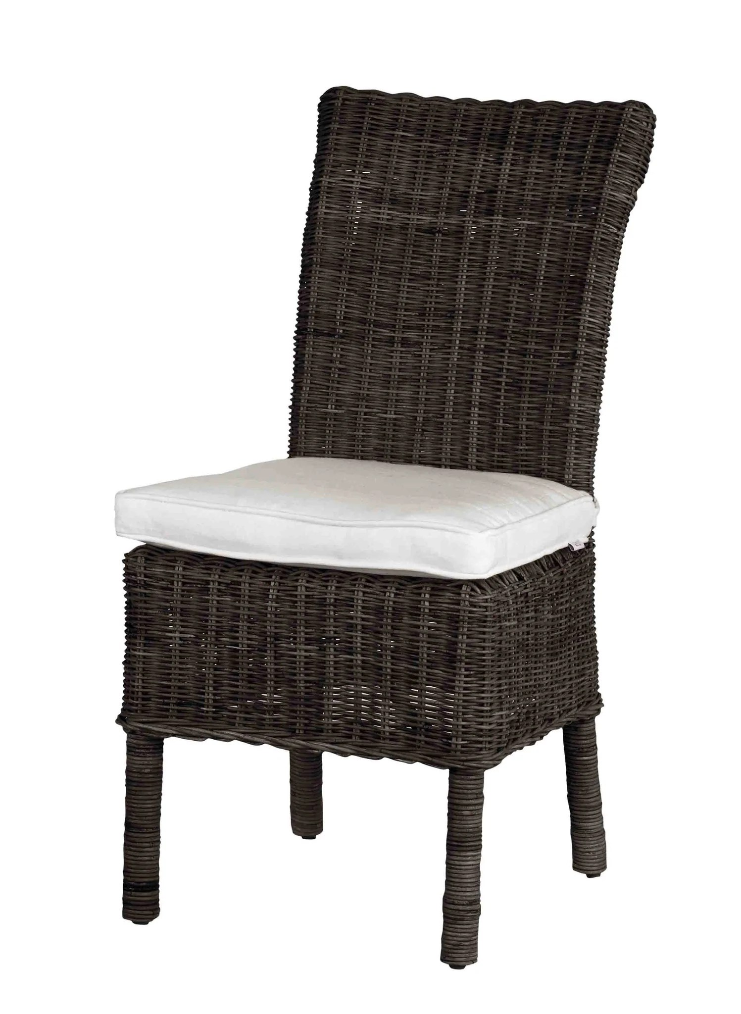 Outdoor Wicker Dining Chairs Fara Outdoor Dining Chair
