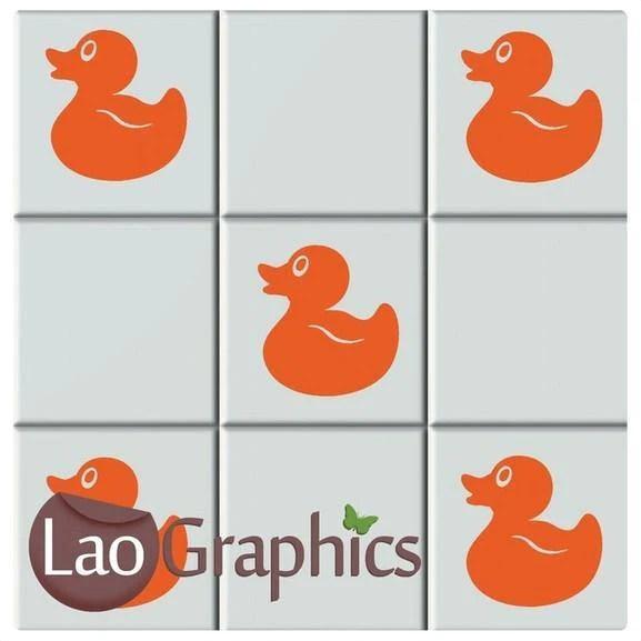 ducks bathroom tile transfers home decor art decals vinyl stickers uk
