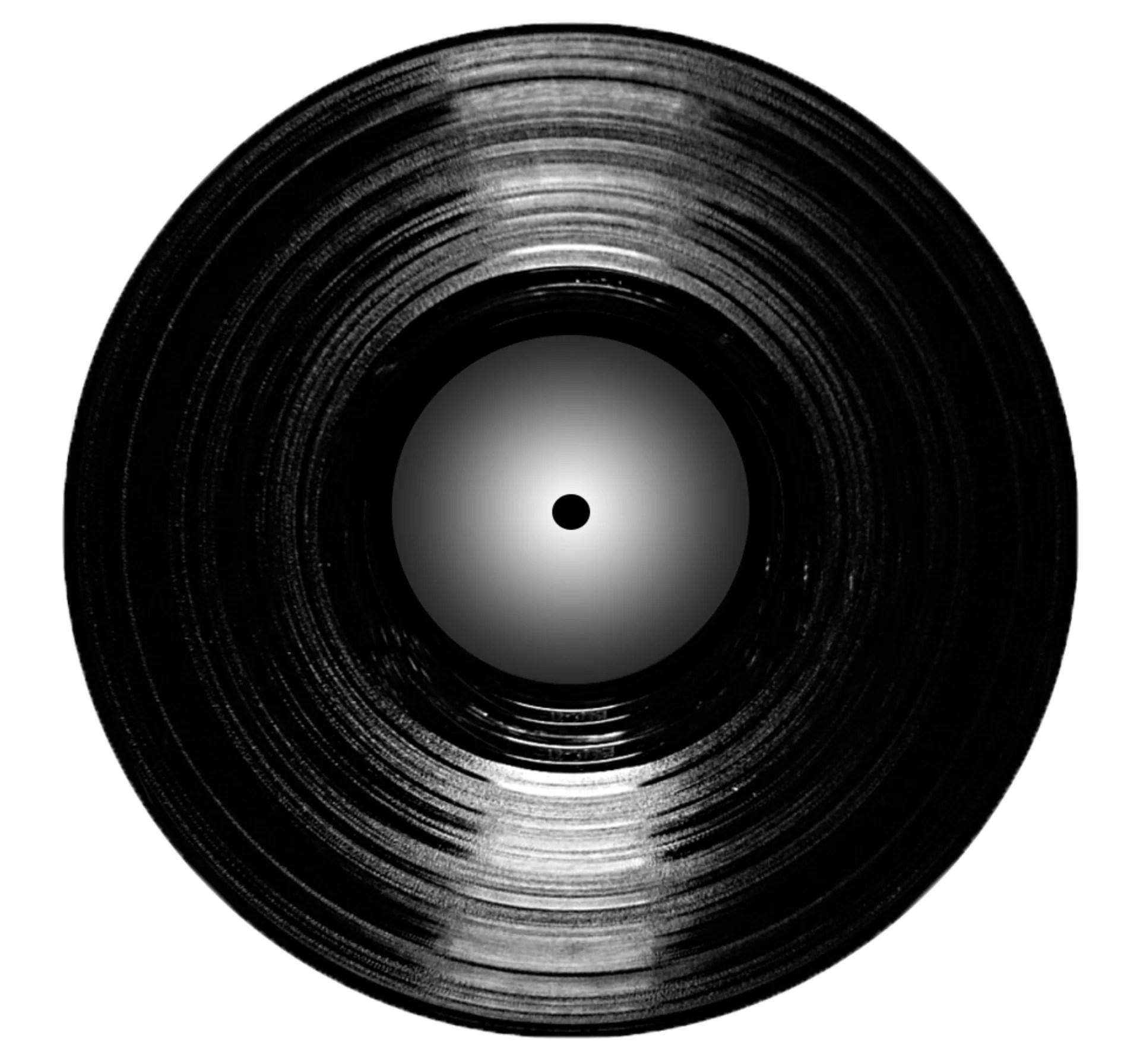 black vinyl package
