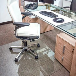 Desk Chair Glass Mat Wedding Cover Hire Bedford Office 1010