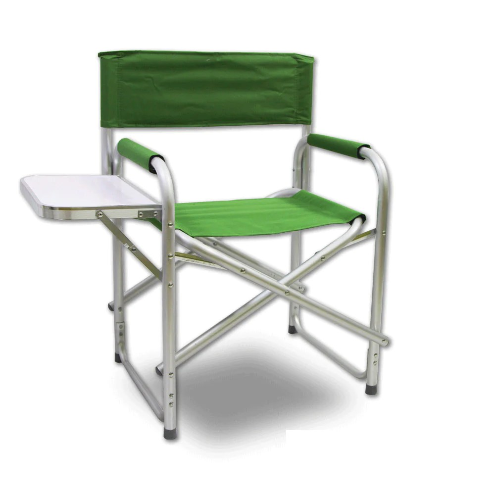 Folding Director Chair Directors Aluminium Folding Chair Camping Picnic Director Fishing Green W Table