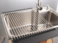 PremiumRacks Stainless Steel Over The Sink Dish Rack ...
