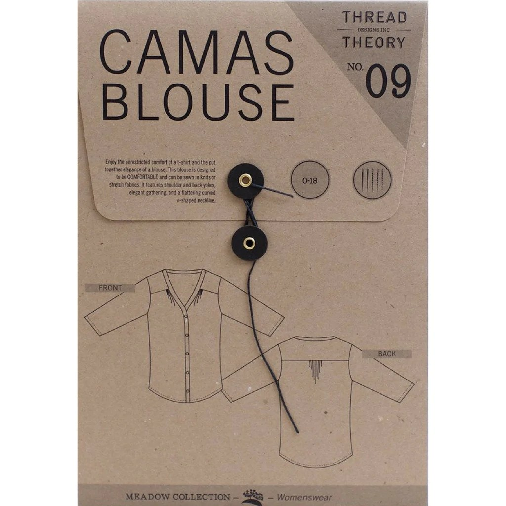 hight resolution of thread theory women s camas blouse sold out style maker fabrics