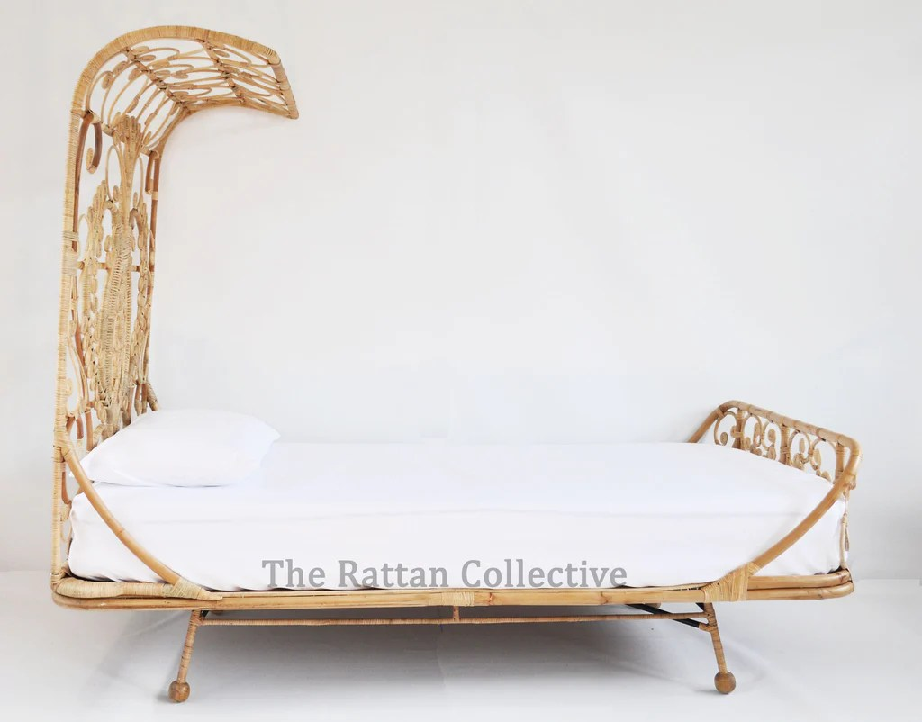 peacock hanging chair of dnc spell stunning unique rattan bed for modern bohemians or
