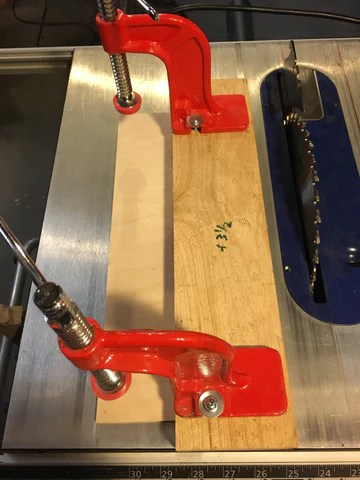 Table Saw Hold Down Jig