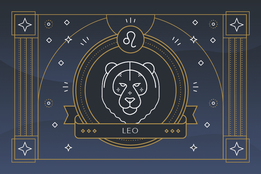 the zodiac sign leo