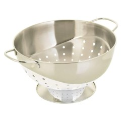 Kitchen Colander Aid Gas Cooktop Prestige Solutions 22cm White Homeware4u Com
