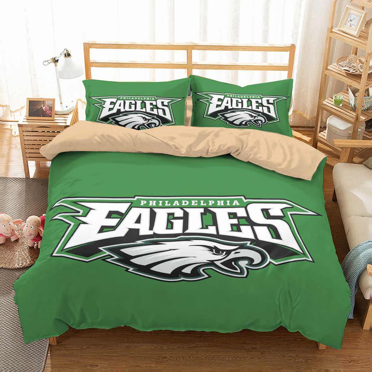 3d Customize Philadelphia Eagles Bedding Set Duvet Cover