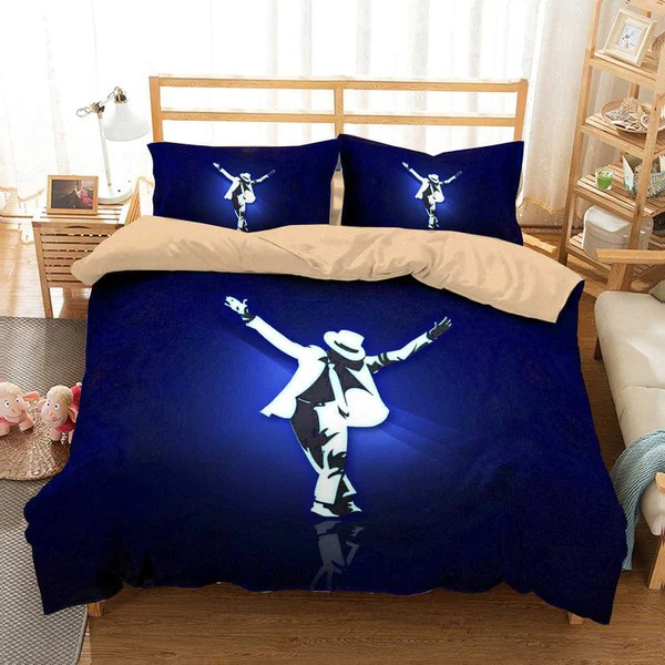 3D Customize Michael Jackson Bedding Set Duvet Cover Set